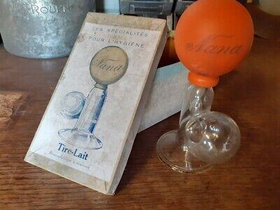 Ancien tire-lait dans sa boite - Vintage breast pump in its original box
