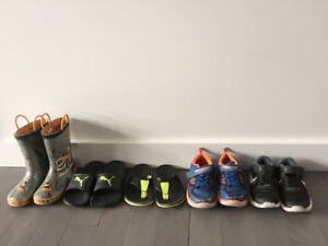 Size 12 toddler boy - shoes boots runners sandals $25 for all