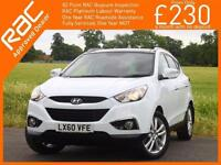 2010 Hyundai ix35 2.0 CRDI Turbo Diesel Premium 6 Speed 4x4 4WD Pan Roof Bluetoo