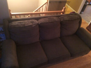 $50 Green couch. Still very comfortable.