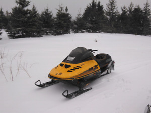 Two 470 Mxz Snowmobiles