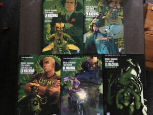 Ex Machina Graphic Novels - Complete Series by Brian K Vaughan