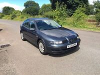Seat Leon- 1.6 PETROL. Electric windows, 2x Keys, Remote locking 12 Months MOT
