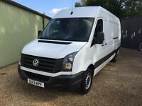 VOLKSWAGEN CRAFTER CR35 TDI 136bhp, White, Manual, Diesel, 2013