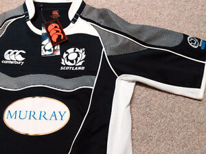 NEW Canterbury of New Zealand Scottish Rugby Jersey London Ontario image 3