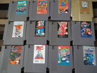 list of Nes Games for sale (nintendo games)