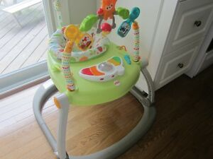 Woodland Friends SpaceSaver Jumperoo Saucer by Fisher Price