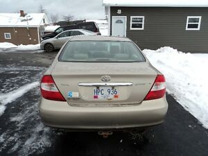 2002 Toyota Camry (Great for parts) St. John's Newfoundland image 3