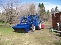 tracteur universel 640 dth