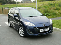 2011 60 REG MAZDA MAZDA5 1.6D ( 115ps ) SPORT 7 SEATS + TOP SPEC