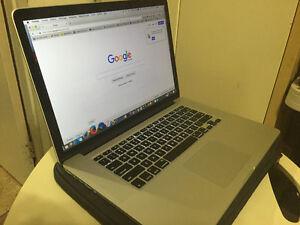 Macbook pro Rétina Quadcore i7 2,8Ghz,16Go RAM ,750Go flash SSD