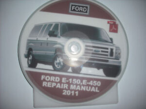 2011 FORD E SERIES FULL SERVICE MANUAL ON CD/DVD