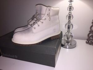 Off White Timberlands. New in Box