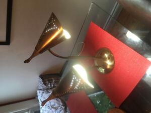Mid century modern vintage space age desk lamp