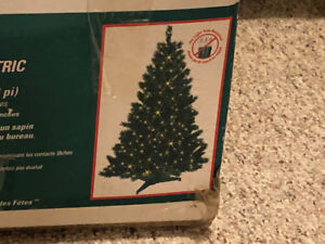 Small Christmas Tree with Lights (Moving Sale)