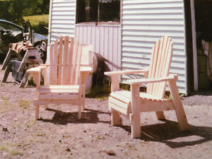 Modified Cedar Adirondack Chairs!