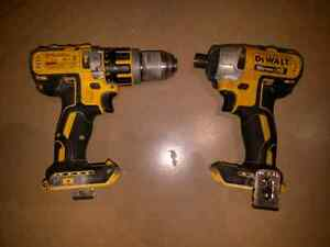 DeWalt 20v hammer drill and impact driver