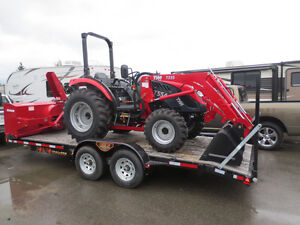 2017 TYM 454 Tractor package