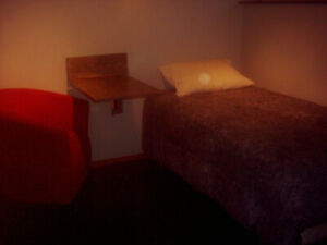 220.00 per Week-Contractor-commuters:Down Town:1 furnished room