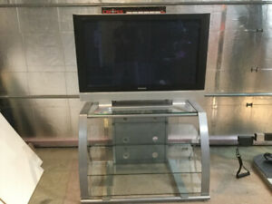 Panasonic 36 inch HDTV with Stand and Sound System