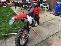 GAS GAS EC 250 ROAD LEGAL not rm cr yz kx ktm 125 300 quad