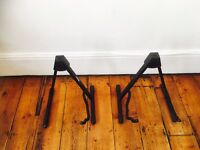 2 Stagg guitar stands (foldable)