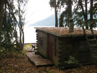 424 Old Sicamous Road, Sicamous--PRIVATE SEMI-WATERFRONT