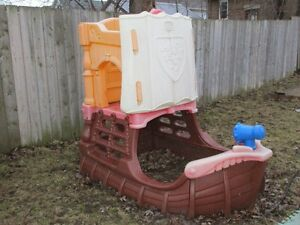 CLIMBER Pirate Play Centre Ship --- TOTS to School Kids LOVE!