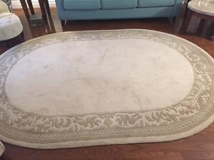 Beautiful wool area rug