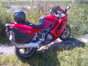 DUCATI ST4S WITH ABS AND HARD LUGGAGE