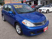 2008 Nissan Versa SL SEDAN...LOW KMS..PERFECT COND..GAS SAVER City of Toronto Toronto (GTA) Preview