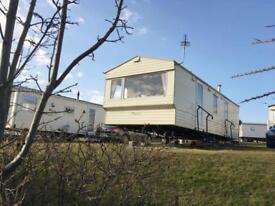 Static caravan for sale sleeps 6 on Crimdon Dene 12 month pet friendly park
