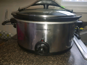 Hamilton Beach Stay or Go Slow Cooker, 6-qt
