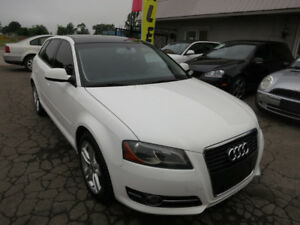 2012 Audi A3 2.0T - Pano Roof, B/tooth, Leather - Immaculate