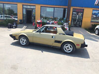 Very Rare 1981 Fiat X1/9 Fuel injection model - Bitter Wife Sale