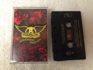 Aerosmith Permanent Vacation Cassette Tape