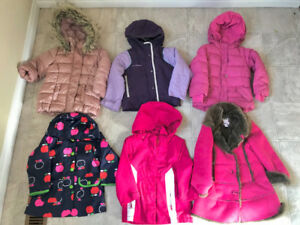 GIRLS WINTER CLOTHES size 3-4 T