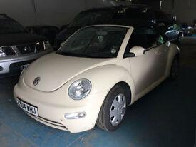 Volkswagen Beetle 1.6 2004MY 81K A GREAT VALUE SUMMER CONVERTIBLE