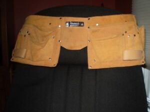 NEW  SUADE LEATHER TOOL BELT