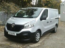 Renault Trafic Sl27 Energy Dci 120 Business Van DIESEL MANUAL SILVER (2016)