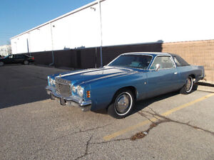 1976 Chrysler Cordoba Coupe (2 door)