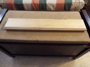 hard wood shelves