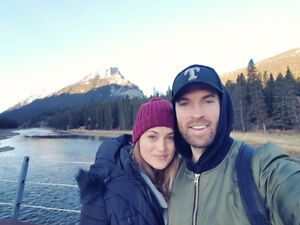 Couple looking for apartment/condo/room in Banff!