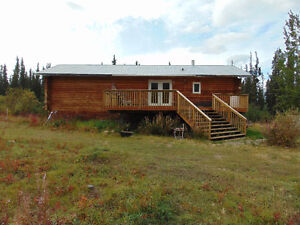 Country residential in Robinson - 30 mins from Whitehorse