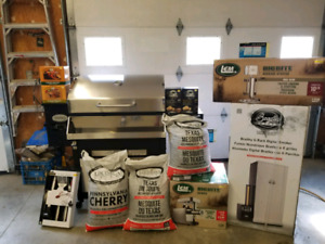 Complete Smoker/ Wood pellet BBQ package