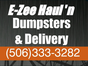 Dumpster Rental /Yard Clean Up (KV and Saint John Area)