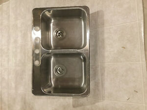 Brand new double standard kitchen sink just for $50