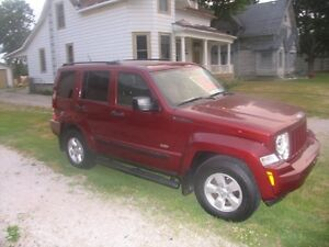 2009 Jeep Liberty trail edition SUV, Crossover