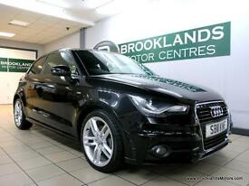 Audi A1 1.6 TDI S LINE 105PS [6X AUDI SERVICES, LEATHER and 20 ROAD TAX]