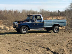 79 Ford F-150 4 x 4 Barn Find